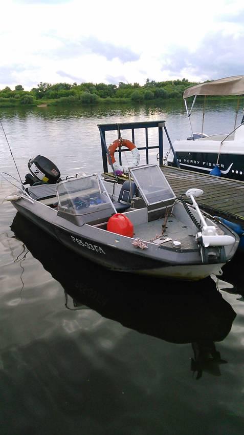 спиннингом на оке с лодки